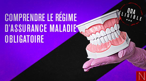 COMPRENDRE LE RÉGIME D'ASSURANCE MALADIE OBLIGATOIRE