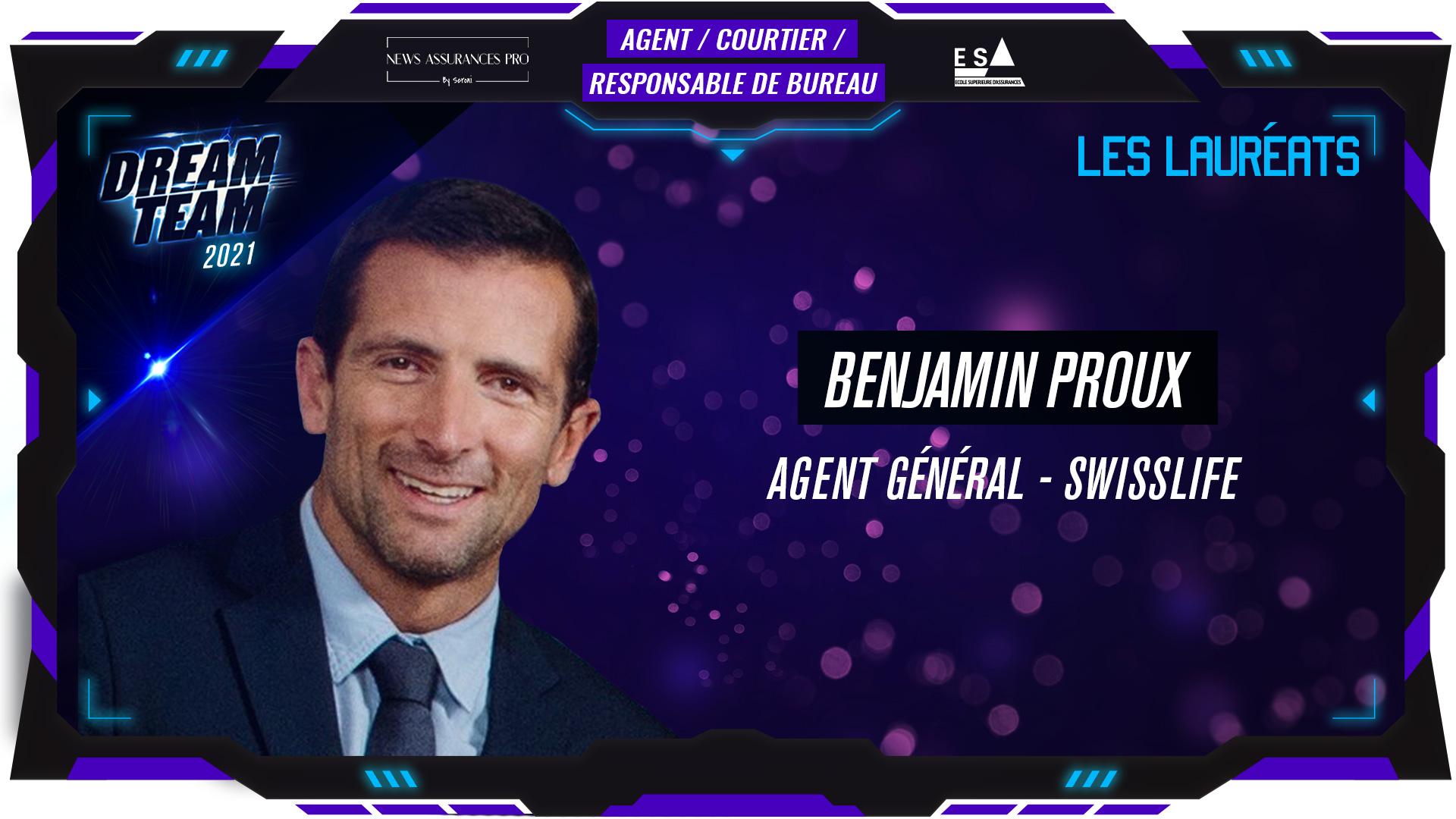 Benjamin Proux au poste de Agent Général