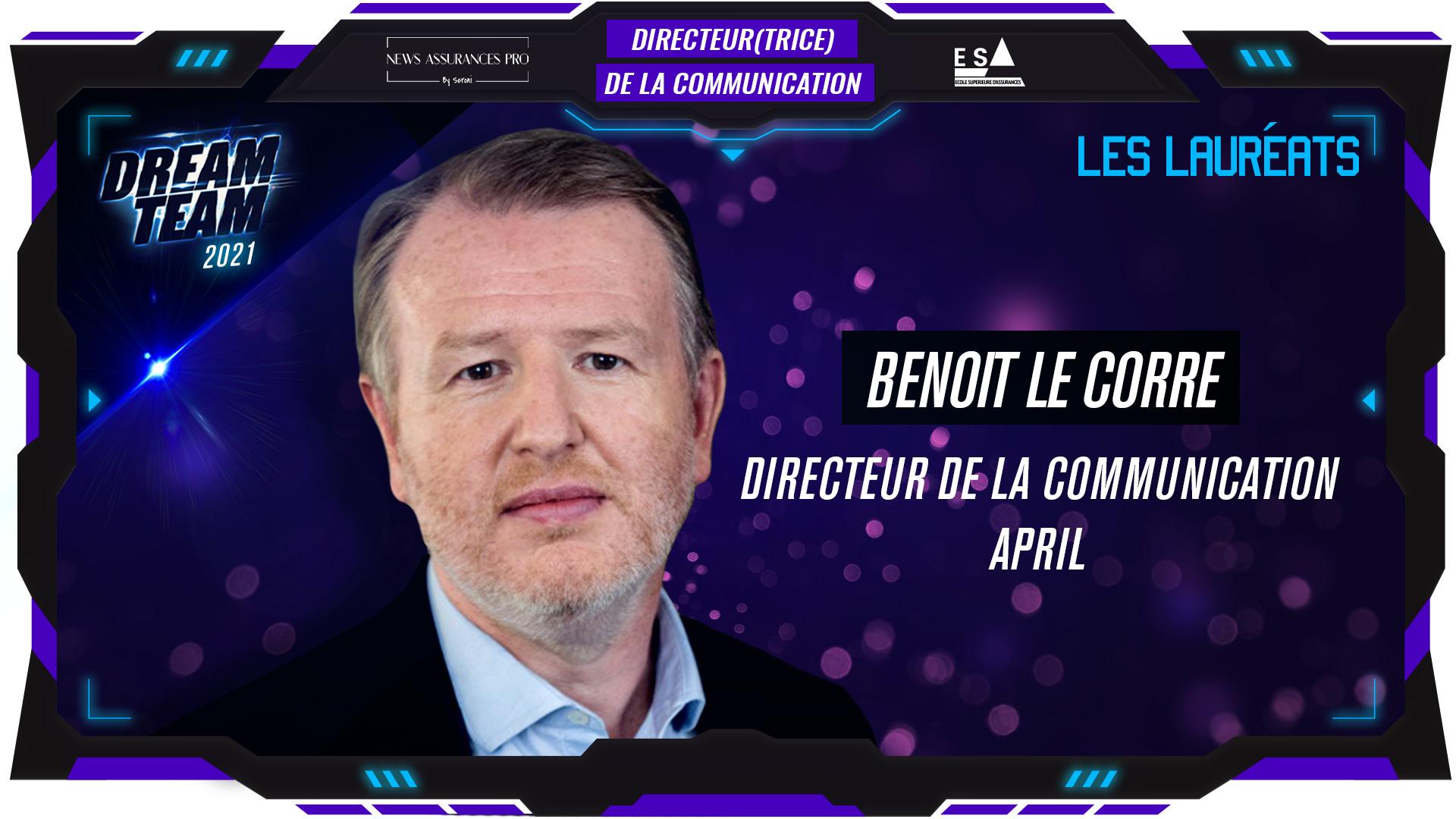 Benoit Le Corre au poste de Directeur de la communication