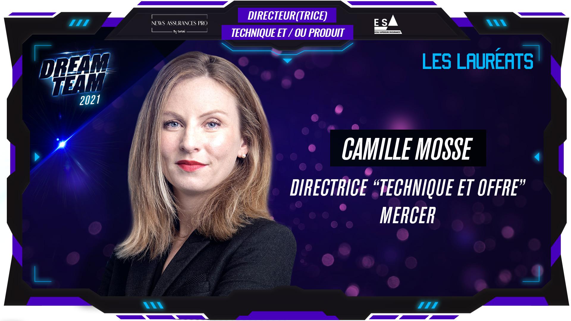 Camille Mosse au poste de Directrice Technique et/ou Produit