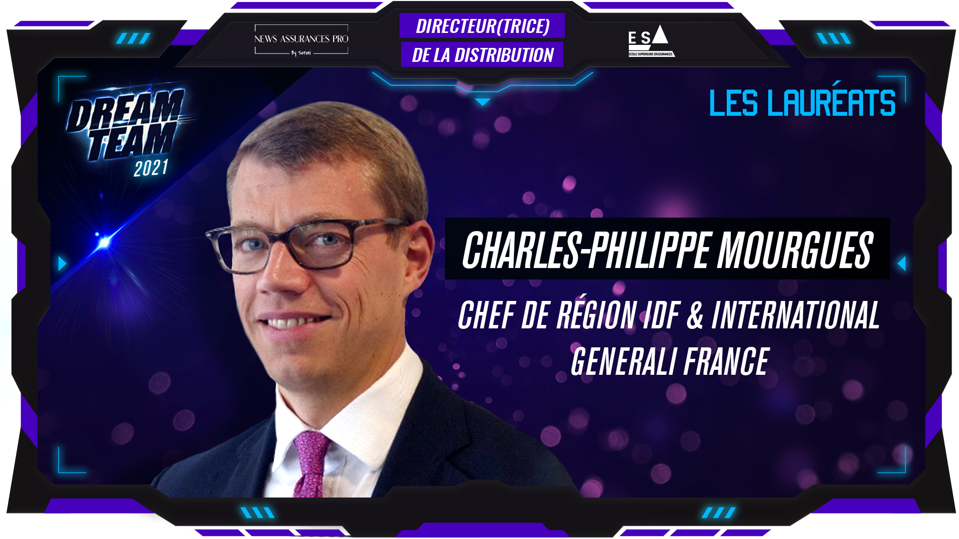 Charles-Philippe Mourgues au poste de Directeur de la Distribution