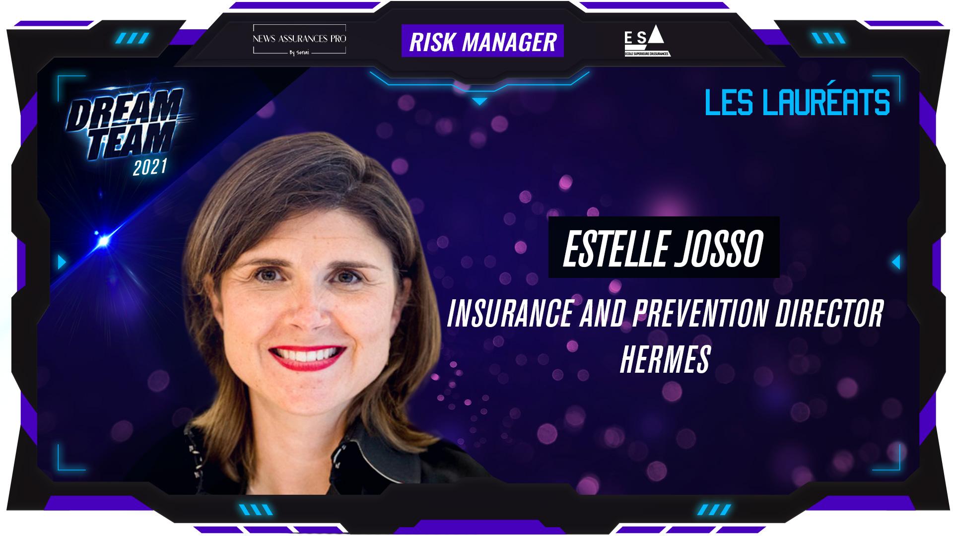 Estelle Josso au poste de Risk Manager