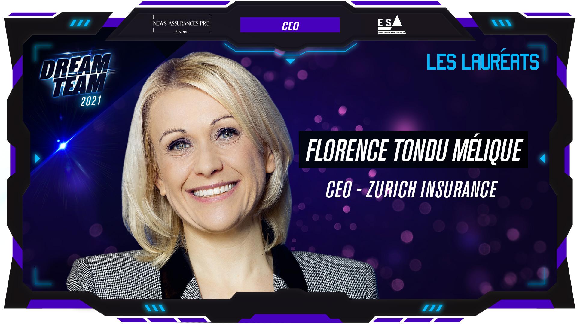 Florence Tondu Mélique au poste de CEO