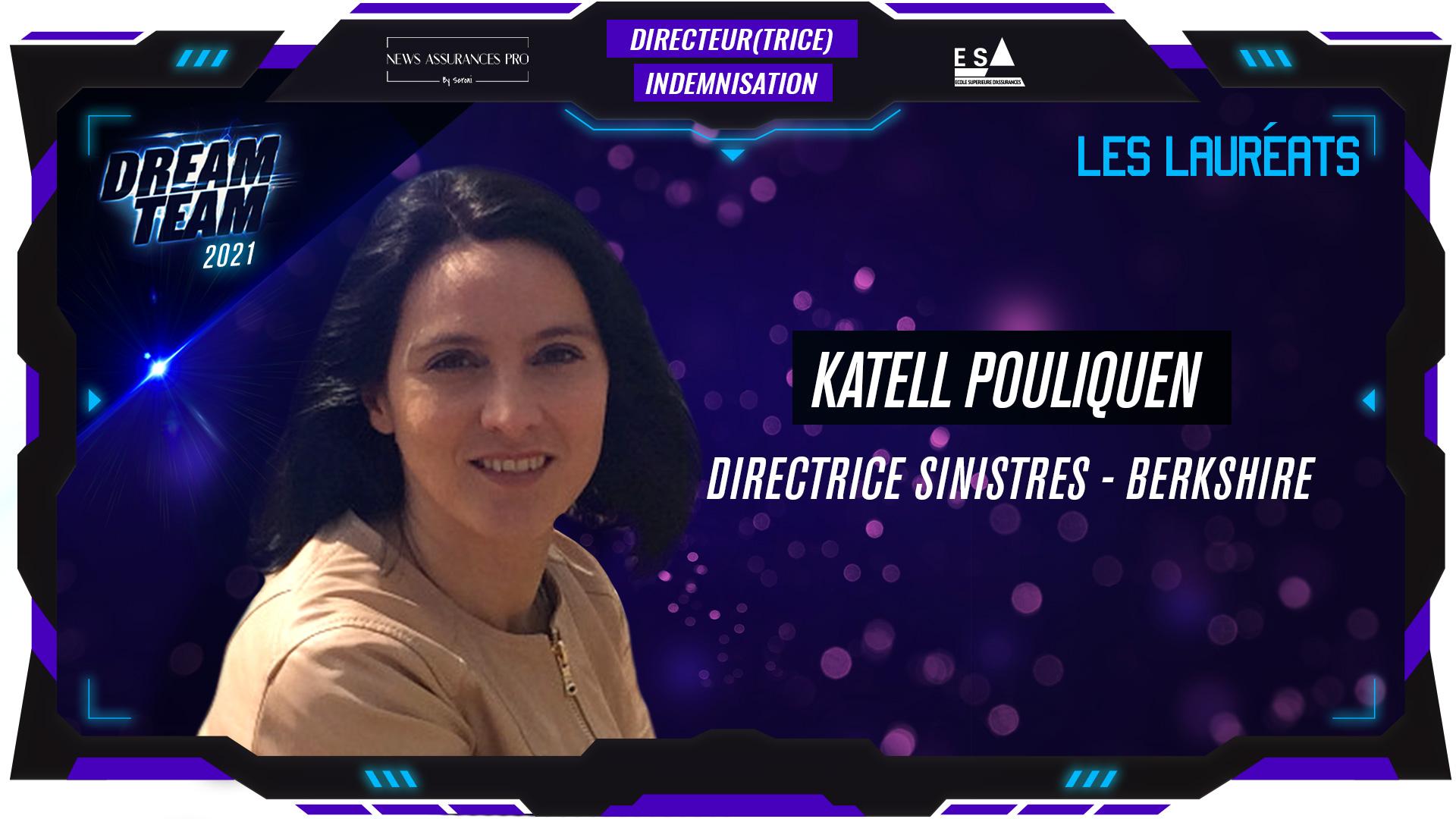 Katell Pouliquen au poste de Directrice indemnisation