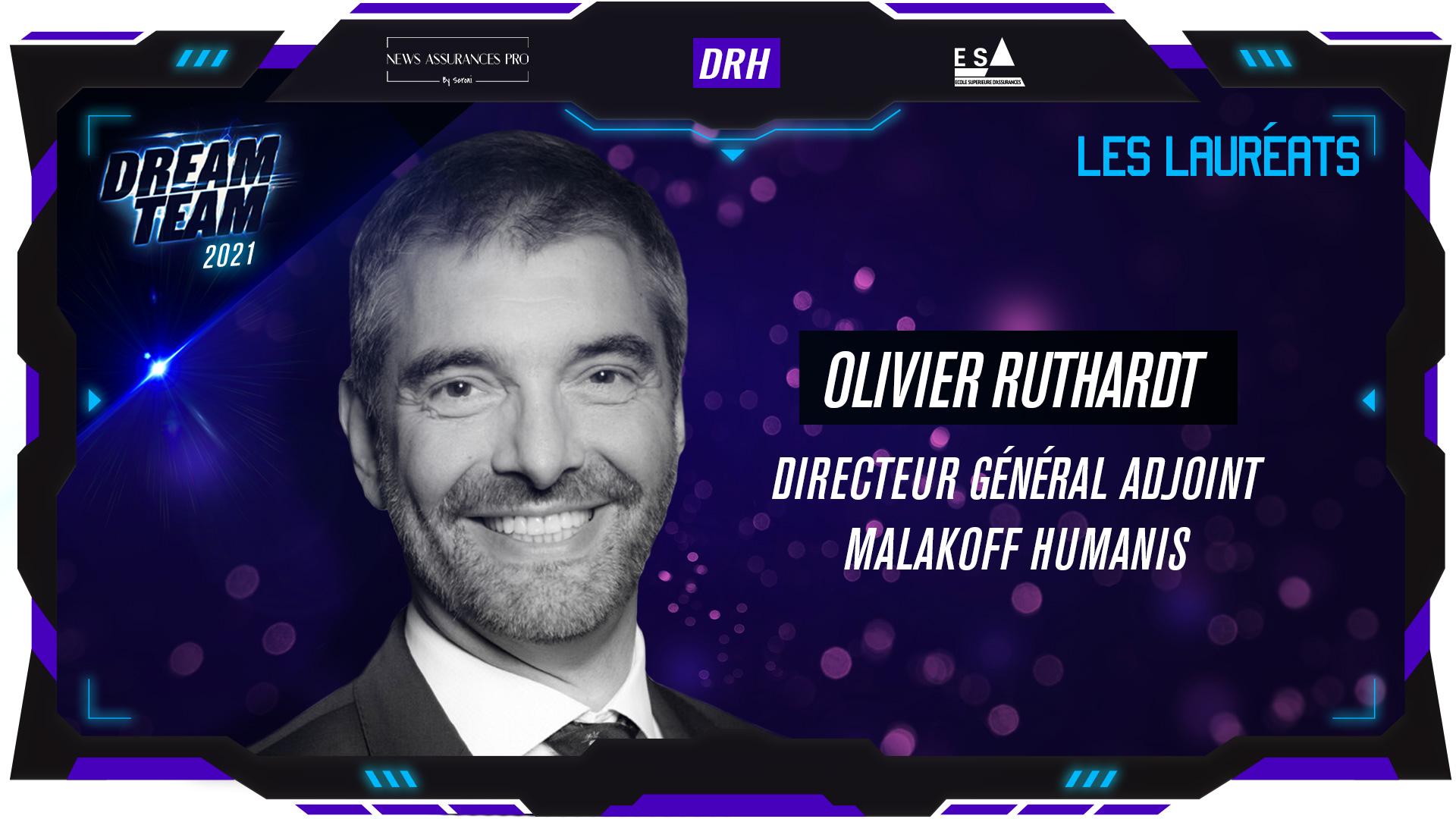Olivier Ruthardt au poste de Directeur des ressources humaines