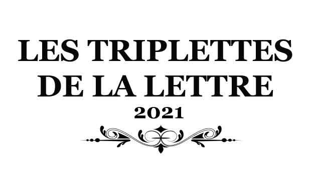 L'hebdo des Triplettes de la Lettre du Jeudi 14 Octobre 2021