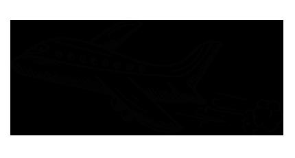 Avion vers Barcelone
