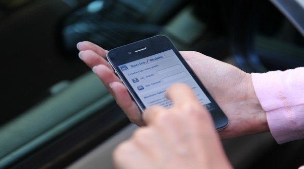 L'application mon Axa sur smartphone