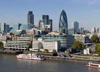 La city à Londres
