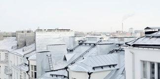 Des toits d'immeuble à Paris