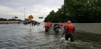 La tempête Harvey