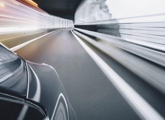 Voiture autonome en circulation