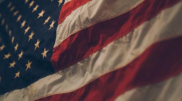 Le drapeau des Etats-Unis