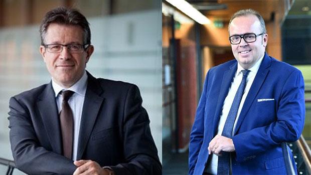 Roger Mainguy et Jean-Hubert Bannwarth