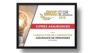 CIPRÉS Assurances récompensé pour son innovation produit !