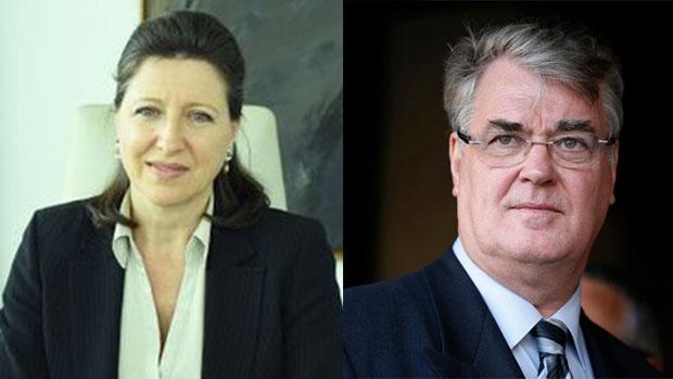 Agnès Buzyn et Jean-Paul Delevoye