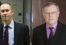 Michel Dieu, vice-président d'Adéis, et Gérard Roulet, président