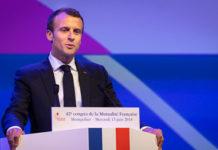 Emmanuel Macron au Congrès de la Mutualité