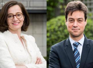 Nathalie Beaudemoulin et Olivier Fliche de l'ACPR
