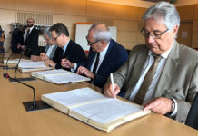Signature de la convention dentaire