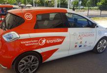 L'une des quatre voitures autonomes en circulation à Rouen