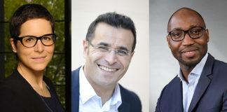 Elise Ginioux, Karim Bouchema, Stephan Fangue de Generali France