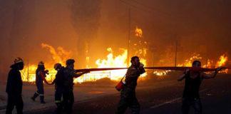 Incendies en Grèce