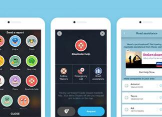 Service d'assistance d'Allianz Partners depuis Waze