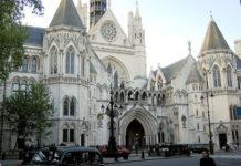 La Haute Cour de Justice à Londres