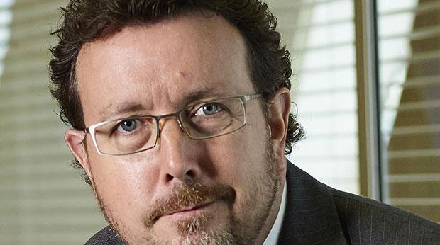 Russel Higginbotham, directeur général pour le région EMEA de Swiss Re