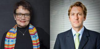 Sonia Fendler et Hugues Aubry
