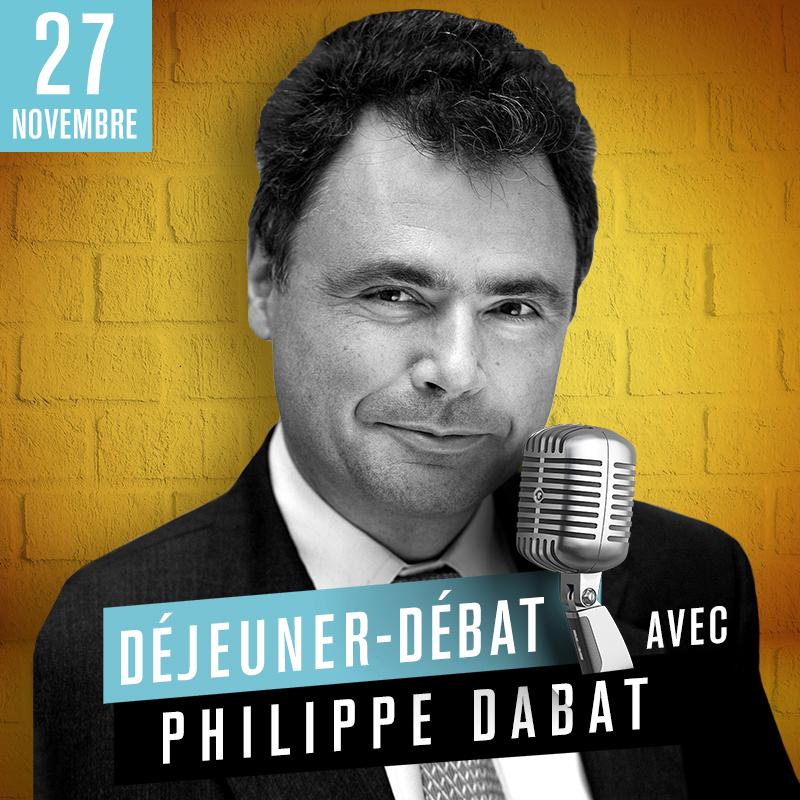 Déjeuner débat avec Philippe Dabat, directeur général délégué d'AG2R La Mondiale