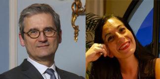 Jean-Rémi Bur et Karine Guedj du groupe Vyv