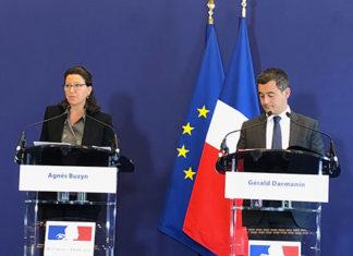 Agnès Buzyn et Gérald Darmanin