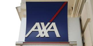 Une enseigne d'Axa France
