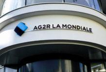 Devanture d'immeuble AG2R La Mondiale