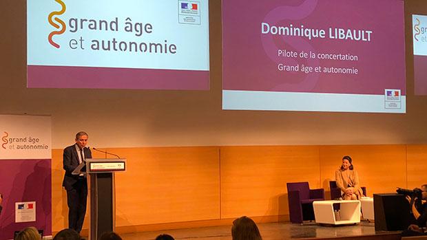 Lancement de la concertation sur le grand âge et la perte d'autonomie