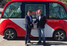 Axa signe un partenariat avec Navya