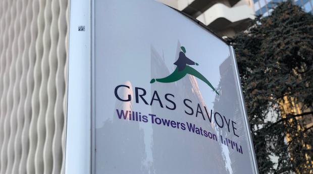 Le siege de Gras Savoye WTW France