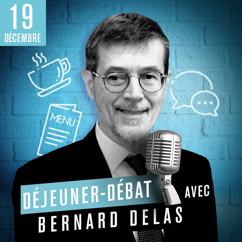 Déjeuner Débat avec Bernard Delas, vice-président de l'ACPR
