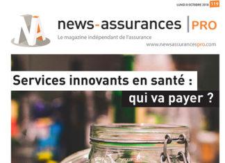 La une du magazine de News Assurances Pro sur les services innovants en santé