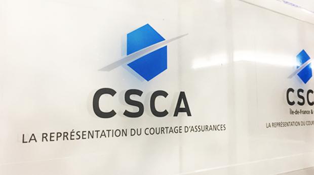 La plaque de la CSCA