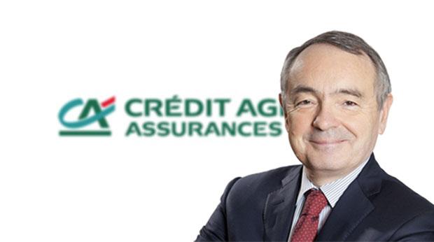 Frédéric Thomas, directeur général de Crédit Agricole Assurances