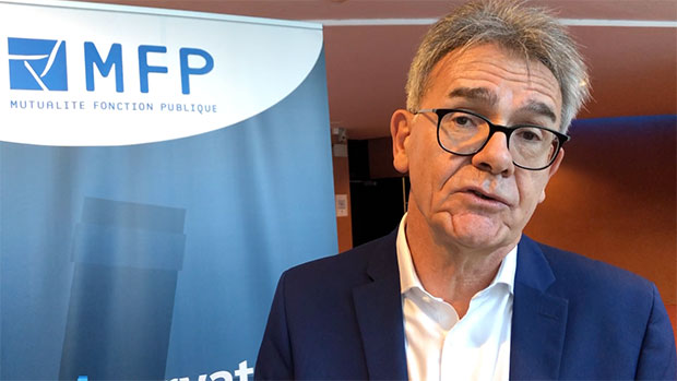 Serge Brichet, président de la MFP