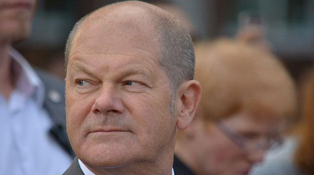 Olaf Scholz, ministre allemand de l'Economie et des Finances