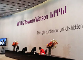 Le siege de Willis Towers Watson