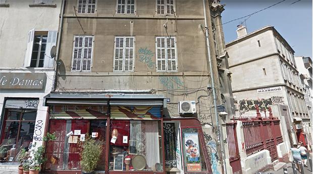 Un immeuble a Marseille