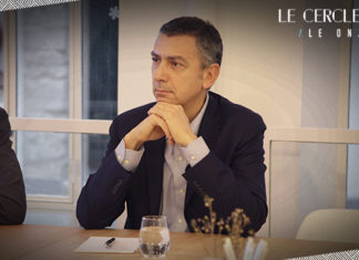 Gabriel Gross lors du club indemnisatiuon du cercle LAB