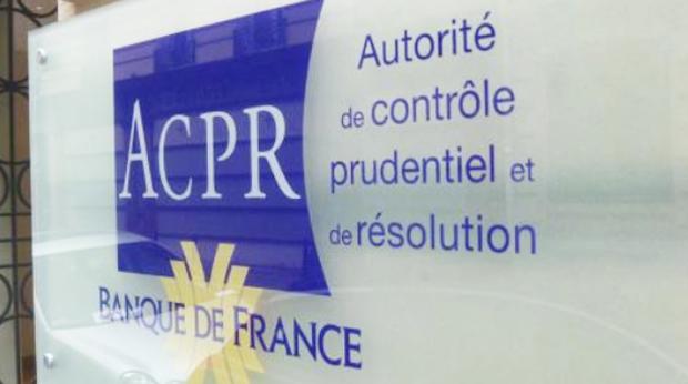 L'entree de l'ACPR