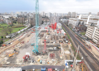 Les travaux du Grand Paris Express